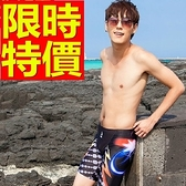 四角泳褲-溫泉優質精選焦點男平口褲56d95[時尚巴黎]