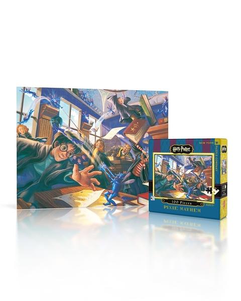 【KANGA GAMES】拼圖 哈利波特迷你拼圖 - 調皮搗蛋的小妖精 Harry Potter Mini Puzzle - Pixie Mayhem 100片