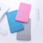 鼠標墊創意純色記憶硅膠舒適簡約