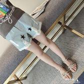 女童牛仔短褲 夏新款夏裝薄款兒童破洞褲子女大童夏季韓版洋氣  新年下殺
