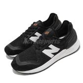 New Balance 休閒鞋 NB 247 v3 黑 白 中童鞋 大童鞋 女鞋 復古慢跑鞋 運動鞋 【ACS】 YH247SA3W