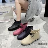 韓版時尚雨鞋女短筒雨靴低幫水鞋膠鞋防滑鞋【時尚大衣櫥】