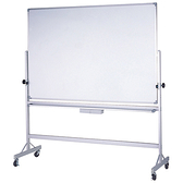 【大台北市區價】群策 KA405單面磁白板+鋁迴轉架 120x150