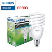 【聖影數位】Philips 飛利浦 28W 螺旋省電燈泡-白光6500K 2入裝 (PR903) 公司貨