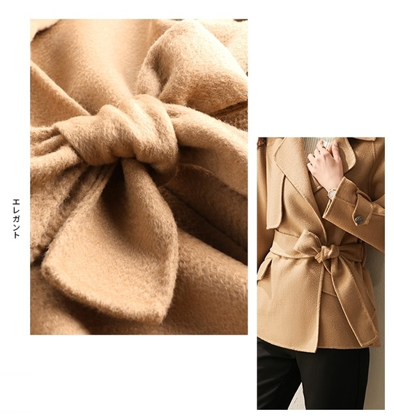 (現貨+預購 RN-girls)-精品OL短版羊毛外套