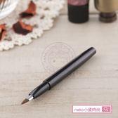日本貝印 cosmeup 短柄伸縮唇刷(圓) HC-3725