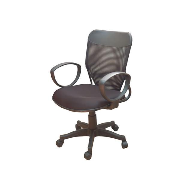 【YUDA】JS188C-CBTG 黑網布椅氣壓傾仰 辦公椅/電腦椅