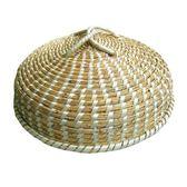 手工草編蒸鍋鍋蓋蒸籠蓋鐵鍋鋁鍋多星電飯鍋蘇泊爾鍋通用鍋蓋 內徑24cm