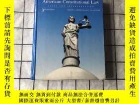 二手書博民逛書店american罕見constitutional law cases and interpretationY2