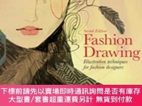 二手書博民逛書店Fashion罕見Drawing, Second editionY19139 Michele Wesen Br