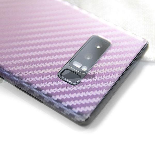 【妞妞♥3C】三星 galaxy note8 note9 S10 Plus 碳纖維紋 背貼 背面保護貼 防滑