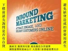 二手書博民逛書店Inbound罕見Marketing Revised And Updated: Attract Engage An