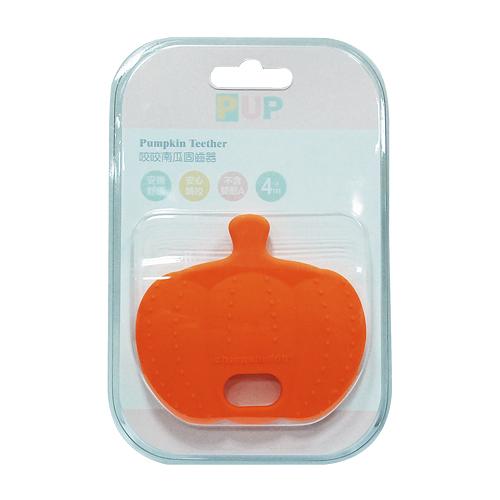 奇哥 PUP Pumpkin Teether 咬咬南瓜固齒器(橘色)[衛立兒生活館]