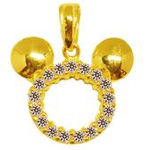 迪士尼系列金飾-黃金墜子-星光米奇款