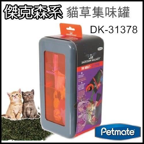 *WANG*美國Petmate《傑克森系列-貓草玩具集味罐》【DK-31378】