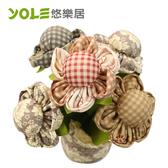 【YOLE悠樂居】爭妍-花藝造型香炭包(2入)#1035059
