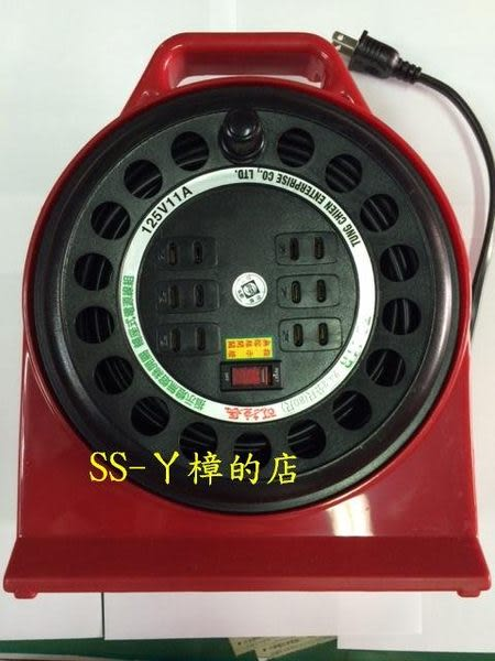 東乾 可拉長 工業用 電纜輪座 延長線 TC-11R (80尺)-24.2M