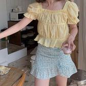 迷你裙 方領性感露肩不見則上衣及包臀短裙 艾爾莎 【TAE7900】