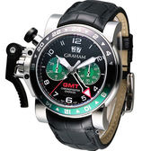 GRAHAM 格林漢 計時機械腕錶 20VGS.B12A.C118S