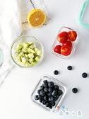 玻璃飯盒透明冰箱食品保鮮飯盒便當盒密封盒【奇趣小屋】