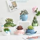 小盆栽擺件綠植室內仿真植物裝飾多肉花仙人掌北歐ins風假花飾品LXY3686 Rose中大尺碼