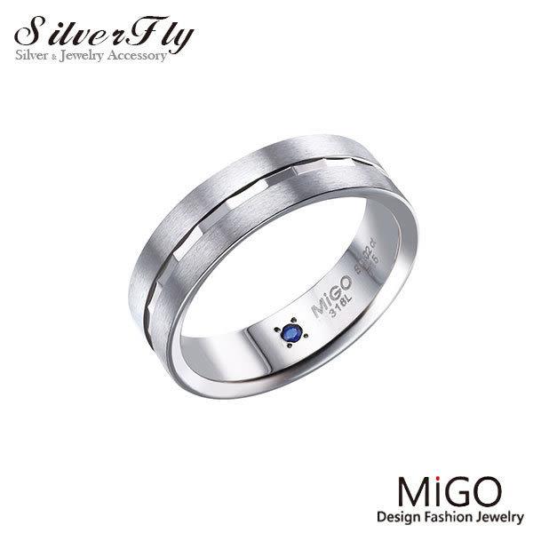 《 SilverFly銀火蟲銀飾 》【MiGO】珍藏-男戒