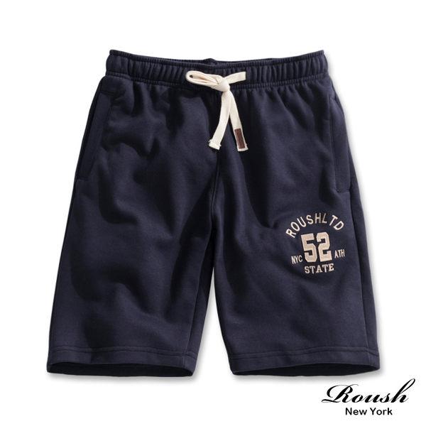 【Roush】美式52立體貼布棉質短褲 - 【820188】
