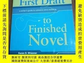 二手書博民逛書店From罕見First Draft To Finished Novel: A Writer s Guide To