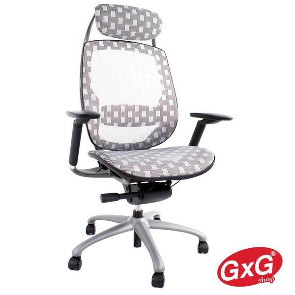 ※出清 吉加吉人體工學 全網電腦椅 型號7388(灰色)