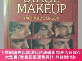 二手書博民逛書店Stage罕見Makeup-舞臺化妝Y414958 R. Corson, Richar... Taylor &