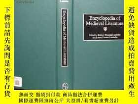 二手書博民逛書店Encyclopedia罕見of Medieval Litera