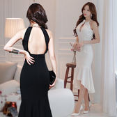 長洋裝 韓版 小禮服