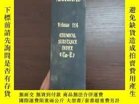 二手書博民逛書店CHEMICAL罕見ABSTRACTS Vol.114 CHEMICAL SUBSTANCE INDEX(Cm-E