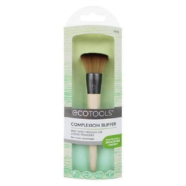 【愛來客 】美國直送~Ecotools新款Complexion Buffer 平頭化妝刷腮紅刷蜜粉刷#1290