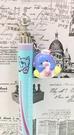 【震撼精品百貨】Tuxedo Sam Sanrio 山姆藍企鵝~造型垂釣原子筆*26715