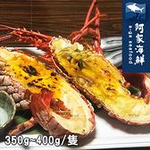 【阿家海鮮】頂級生凍龍蝦350g~400g/尾