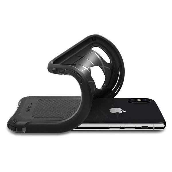 【贈充電線】SPIGEN 軍規防撞 SGP iPhone X Rugged Armor Extra 四角強化保護殼