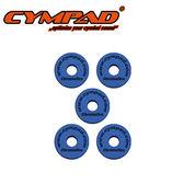 【敦煌樂器】CYMPAD CS15/5B 銅鈸毛氈 藍色五入款