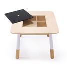 質地密實又堅硬,穩定性高。 木紋清晰有質感,不易變形。 實木的桌腳,不易晃動。