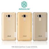 NILLKIN ASUS ZenFone 3 Laser ZC551KL 本色TPU軟套 軟殼 透色套