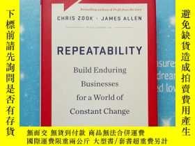 二手書博民逛書店Repeatability:罕見Build Enduring Businesses for a World of