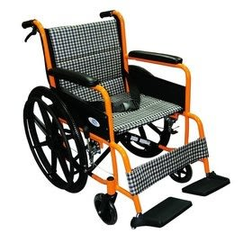 富士康 機械式輪椅 (未滅菌)FZK-2B標準不折背鋁製輪椅