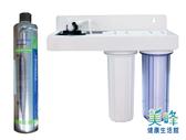 美國PENTAIR賓特爾4HL三道式烤漆吊片淨水器.過濾器QL2濾頭蓋3950元(可替代H104)