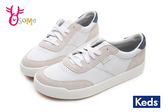 Keds MATCH PIONT 帆布鞋 女款 經典復刻皮革休閒鞋 I9800#白藍◆OSOME奧森童鞋
