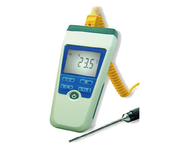 數字溫度計 主機可測:-200~+1772℃ 附測溫棒 可測量溫泉 泡湯池 通過CE與RoHS認證