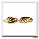 MONET 金色貝型夾式耳環(金色)990135