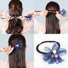 盤髮器 韓國成人盤髮器棒丸子頭花苞頭花朵髮飾造型蓬鬆髮型懶人頭飾品女 店慶降價
