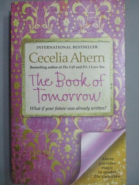 【書寶二手書T8/原文小說_MQG】The Book of Tomorrow_Cecelia Ahern