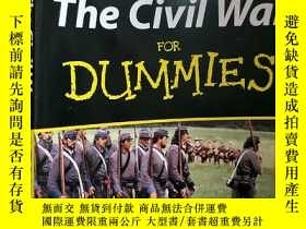 二手書博民逛書店英文原版罕見The Civil War For DummiesY