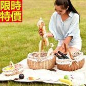 野餐籃(大)-家庭出遊溫馨郊遊用品2款68e3[時尚巴黎]